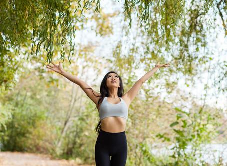Yoga in stanley park
