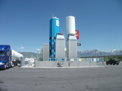 Liquid Natural Gas Fueling Station