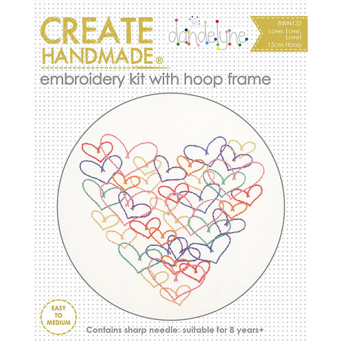 Creative Hoops Hearts Kit
