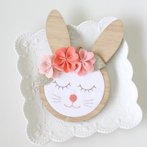 Beatrice Bunny Wall Frame