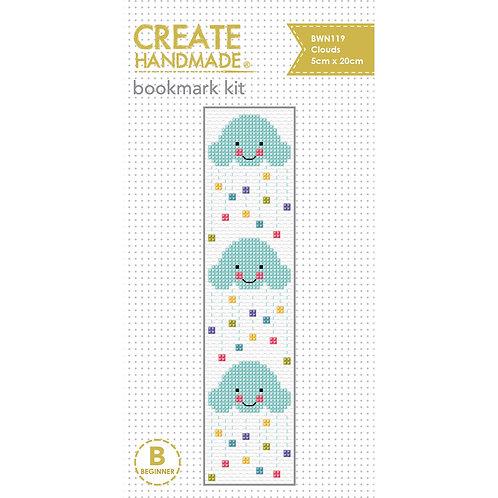 Clouds Bookmark Cross Stitch Kit