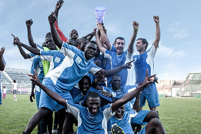 Liberi Nantes: The first football team in Italy made up of refugees