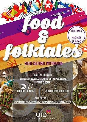 Food and Foltales Event