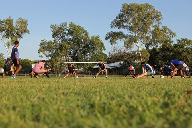 Football brings the community together for Darwin's Refugee World Cup