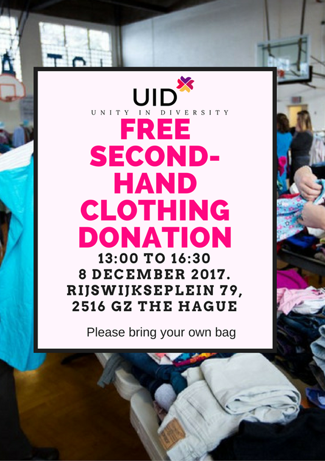 UID Second Hand Clothing Donation