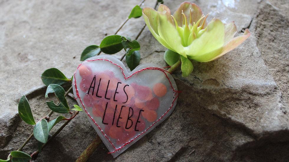 """Herz """"Alles Liebe"""""""