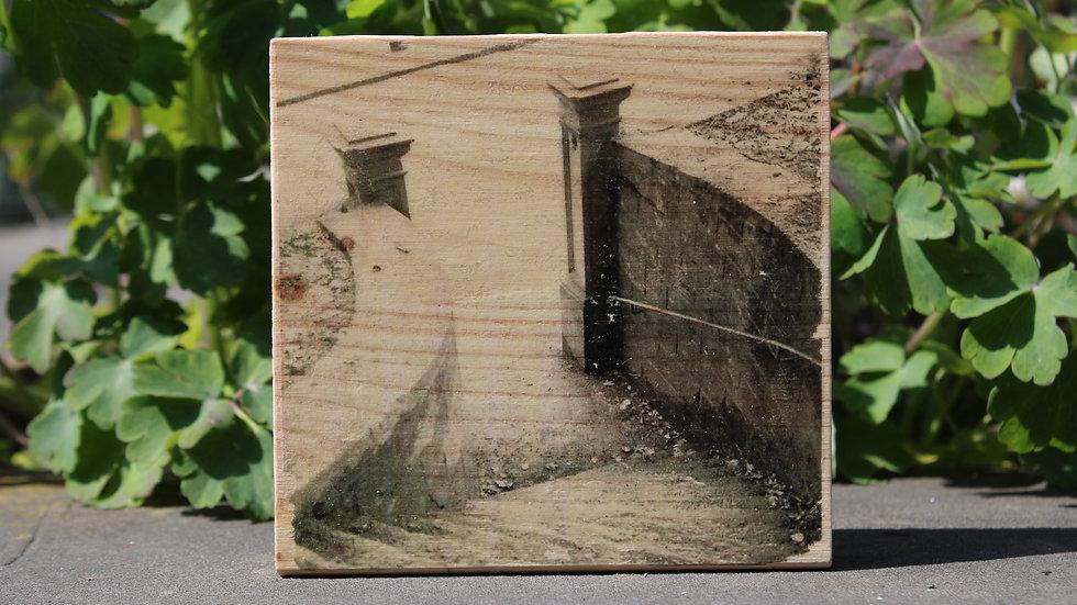 Holzbild Stiege