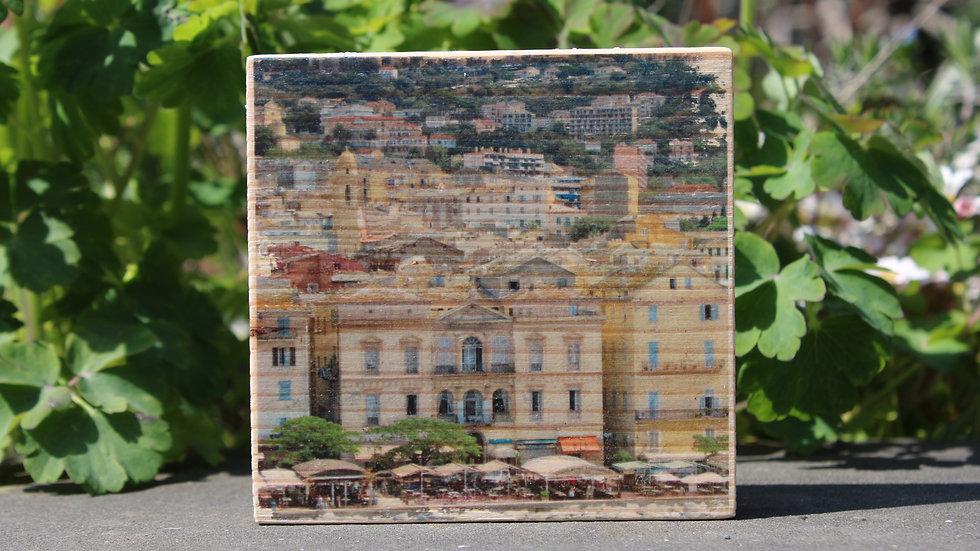 Holzbild Italien