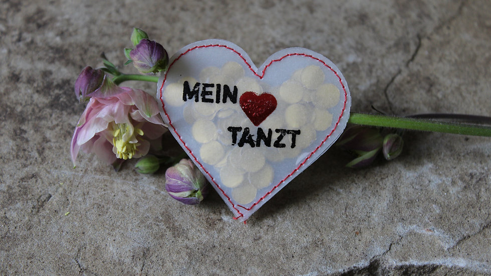 """Herz """"Mein Herz tanzt"""""""