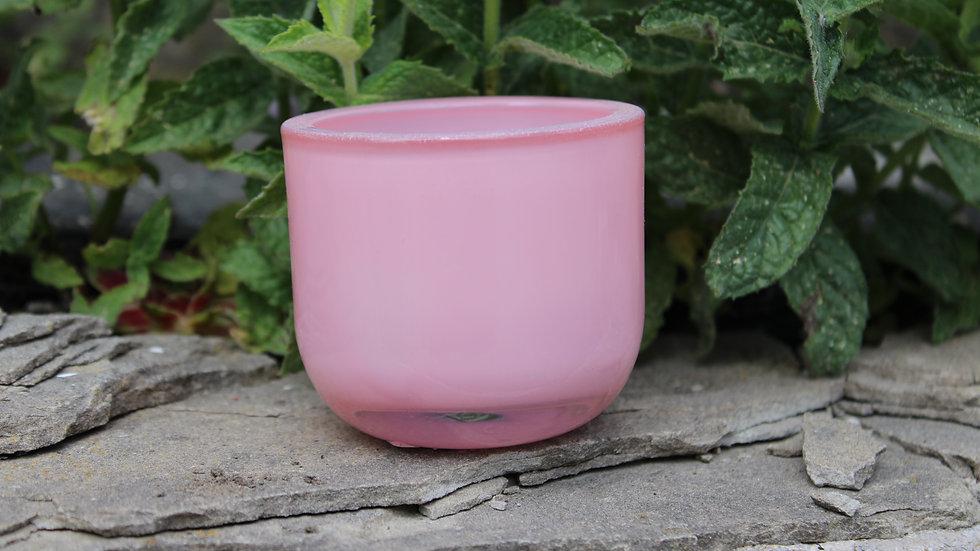 Teelicht Glas rosa