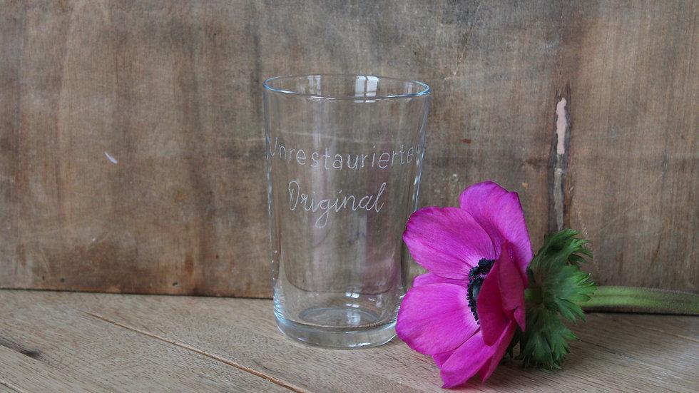 Trinkglas unrestauriertes Original
