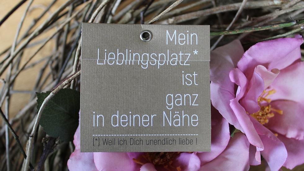 "Mini Klappkarte ""Mein Lieblingsplatz"""