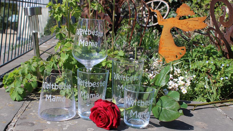 Gläser mit Wunschgravierung auf Bestellung