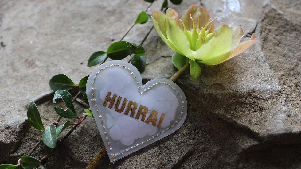 """Herz """"Hurra"""""""