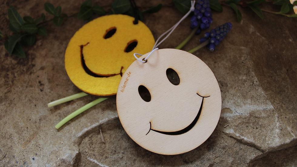 "Holzanhänger ""Smile"""