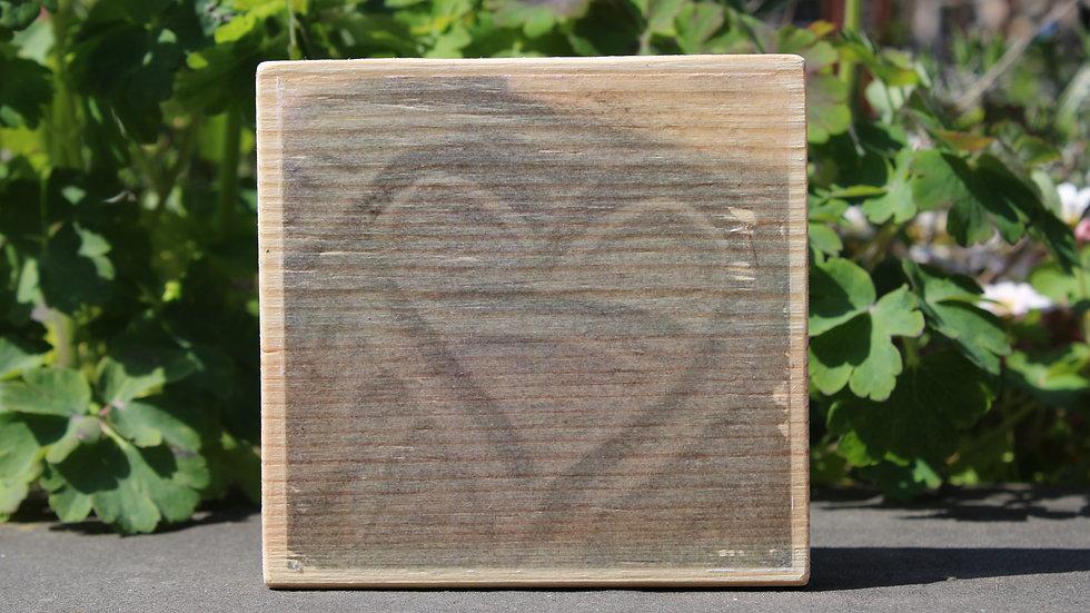 Holzbild Herz