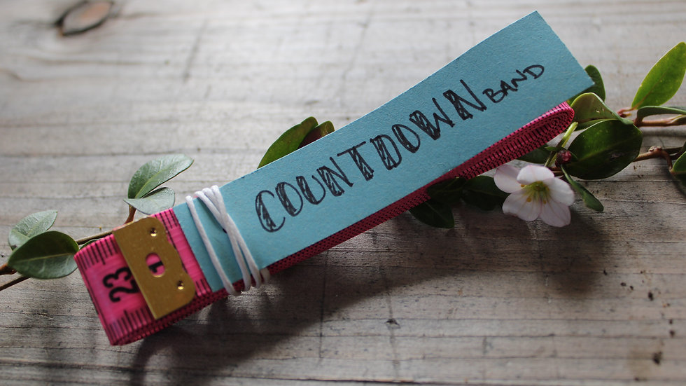 Countdown Band pink
