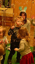 easter parties / bubbles