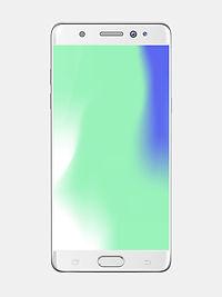 smartphone argent