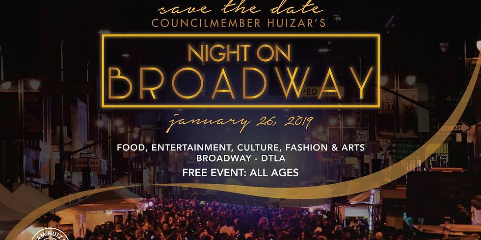 5th Annual Night on Broadway (2019)