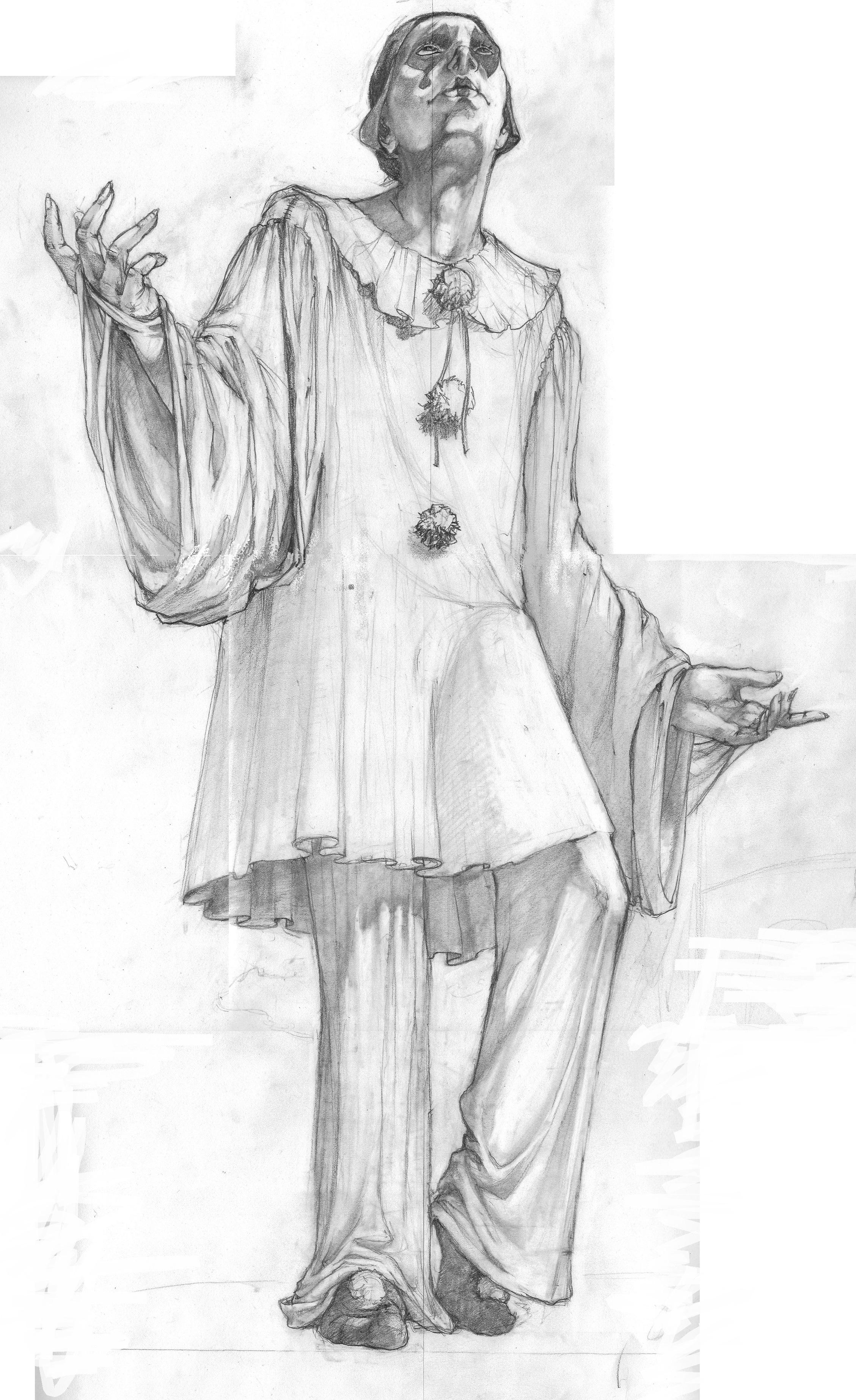 Pierrot (540x750 mm)