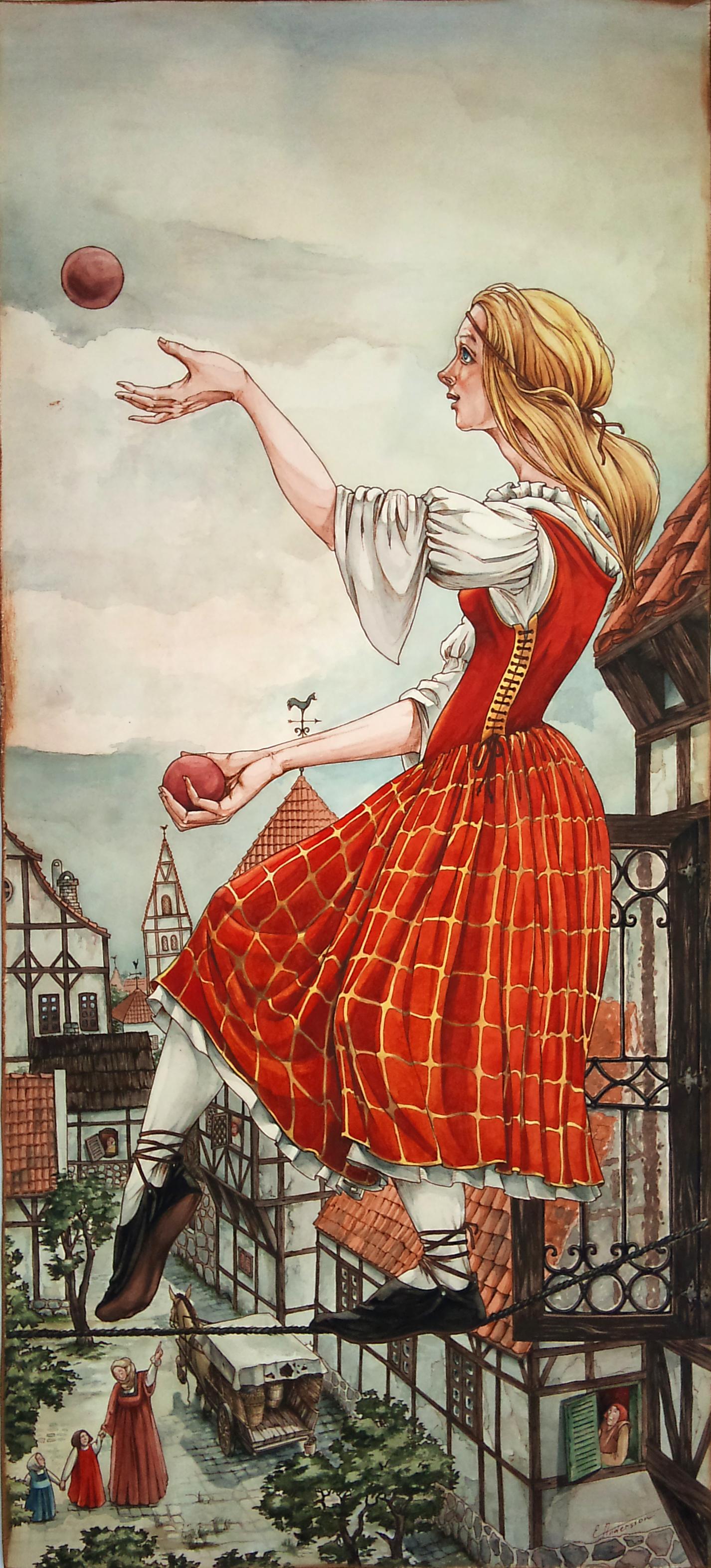 Ropewalkers jugglers (2)