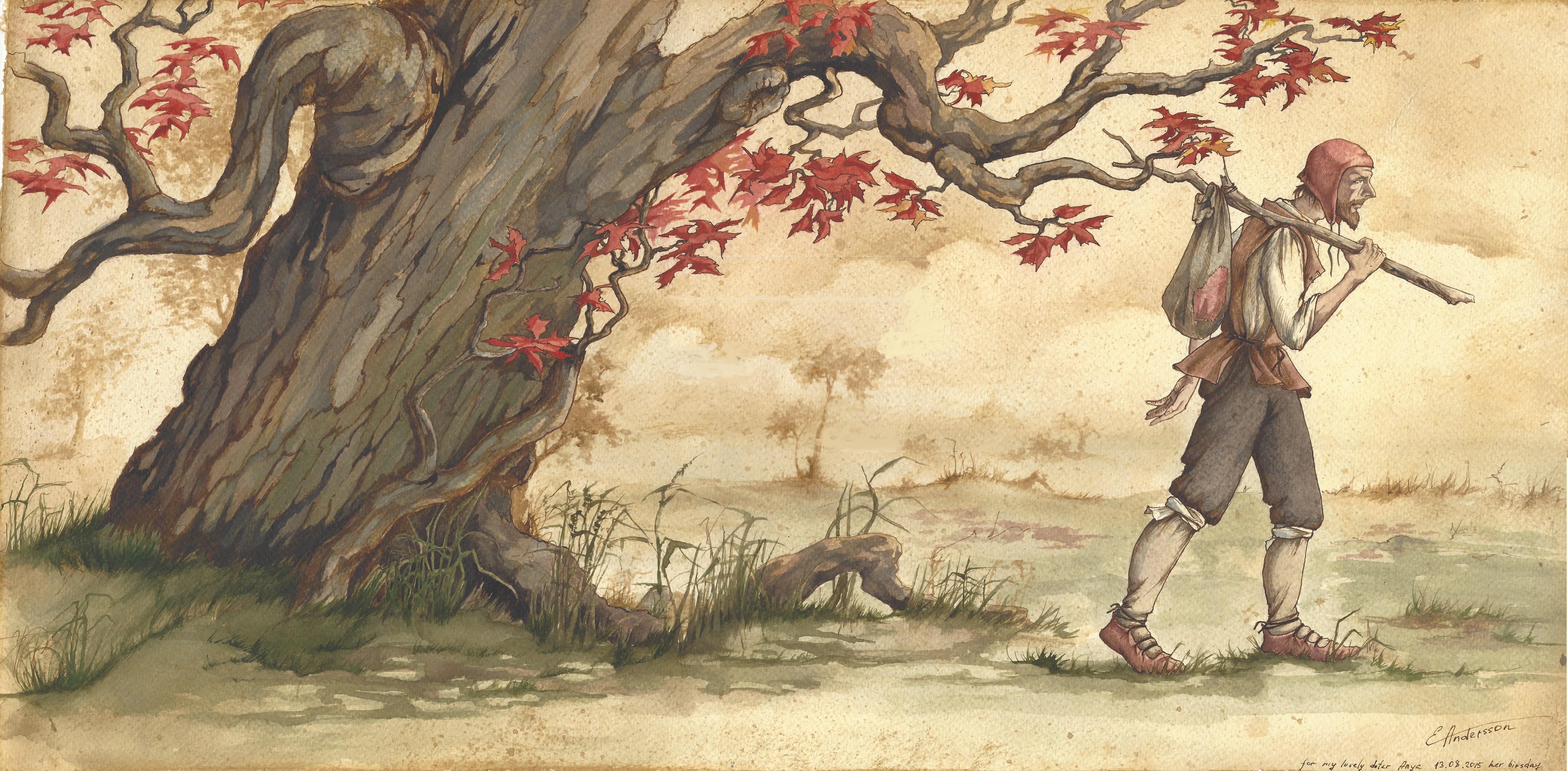 Awayfarer and tree.1