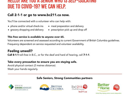 Safe Seniors, Strong Communities!