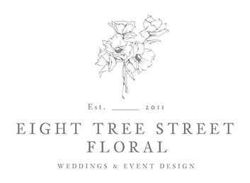 Eight Tree Street Floral_Main Logo Grey.