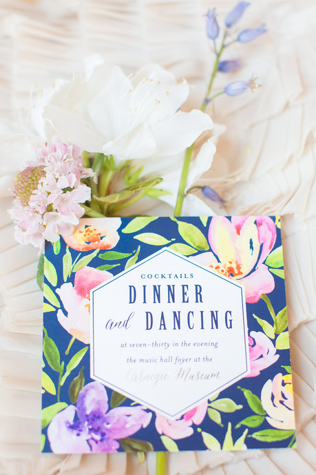 Colorful Spring Inspiration Shoot designed by us at The Loft at 600 F in Washington, DC