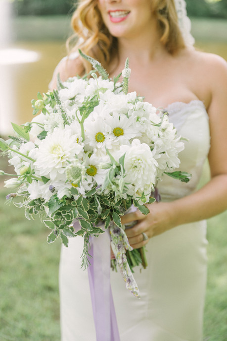 CAROLYN AND JON'S DELICATE DAISIES INSPIRED WEDDING AT STEVENSON RIGE
