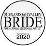 Shenandoah Valley Bride 2020 Artist Badg