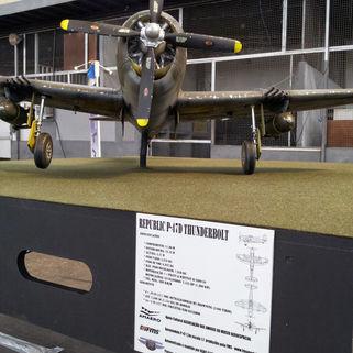 Avião Animatrônico - 2014
