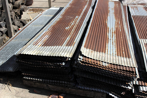 Rusty Corrugated Galvanized Tin Sheets