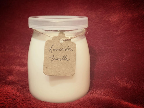 Lavender and Vanilla Candle