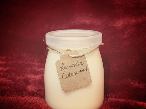 Lavender and Cedarwood Candle