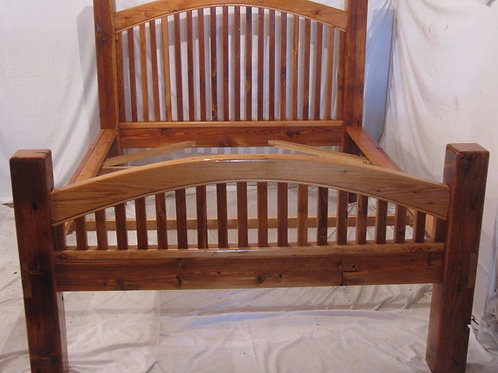 Bed Frame Arched Head and Footboard