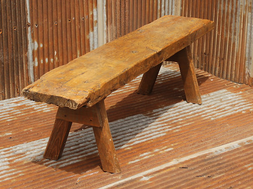 Wooden Leg Bench