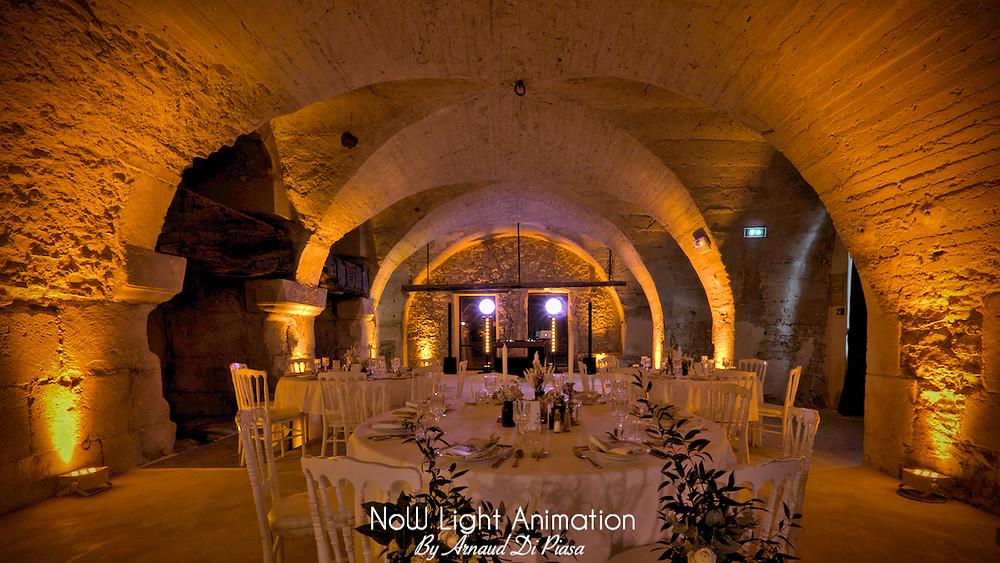 lumière mariage, Moulin de la Recense, DJ, Décoration, Prestige