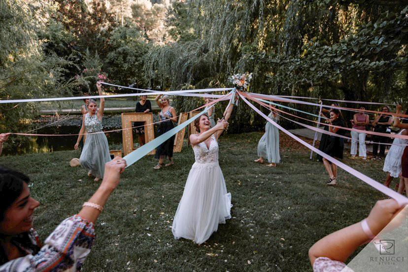 Une version décalée du bouquet de la mariée.