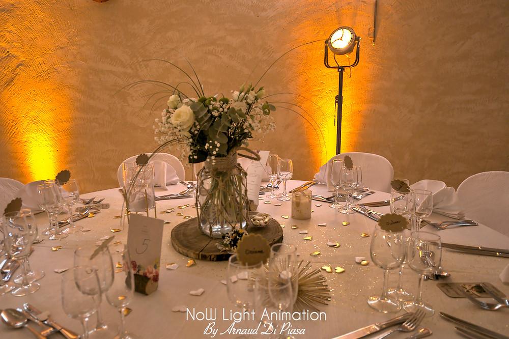 Inspiration mariage champêtre, décoration, DJ