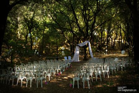 Cérémonie Mariage Champêtre au Domaine du Gros Driou