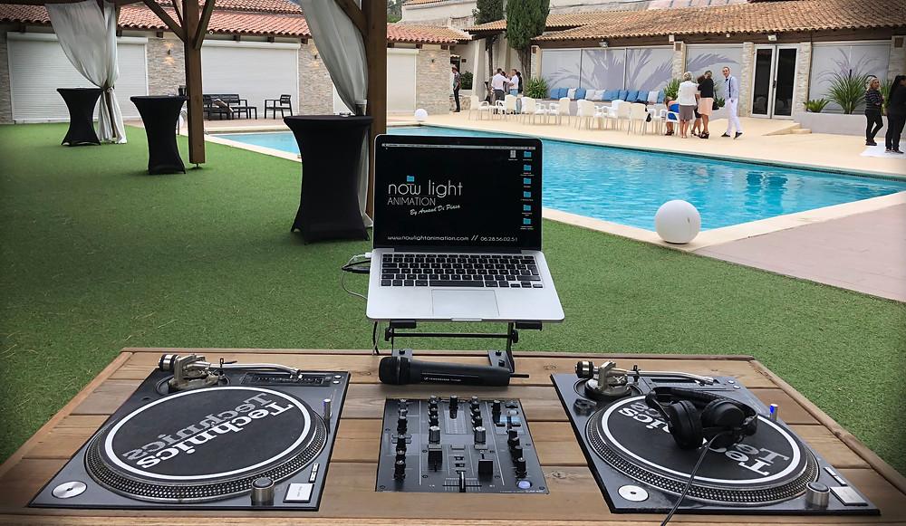 Mariage, Domaine du GEM, DJ, Bar à vinyles
