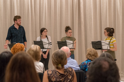 Stop-Motion Staged Reading