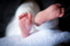 Baby feet, newborn feet
