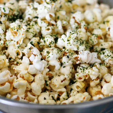 beWELL workshop update & furikake curry popcorn recipe (vegan)
