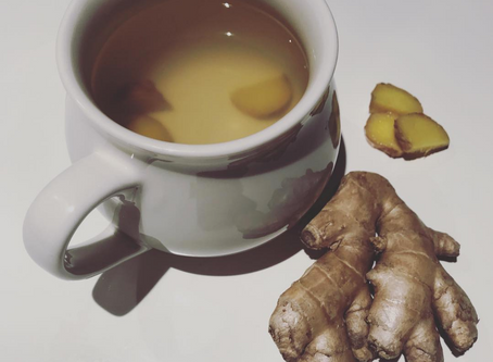 Ginger Tea & Iced Ginger Wellness Tea