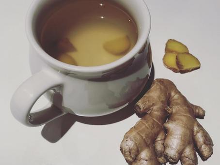 Ginger Tea & Iced Ginger Wellness Tea
