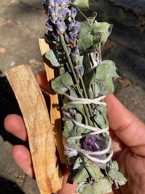 Eucalyptus-Lavender-Sage & Palo Santo Kit