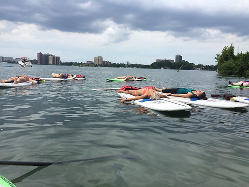 ALL SUMMER: PRIVATE SUP YOGA CLASS on BELLE ISLE